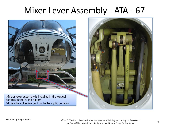 bell-407-mixer-lever-assembly